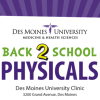 Free School Physicals July 25 – 26 at DMU