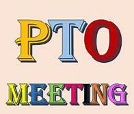 PTO Meeting on Monday, November 11th